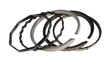 compression  ring: kit piston ring engine of the car Stock Photo