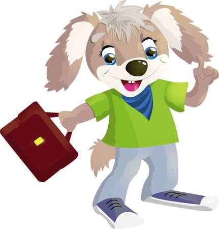 dog: Dog student