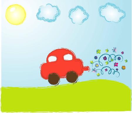 Vector Kinder Bild Standard-Bild - 5073037