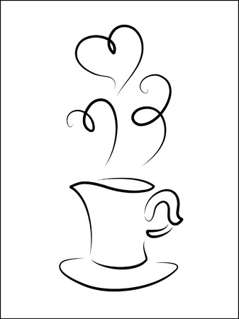 Vector illustration of cup Иллюстрация