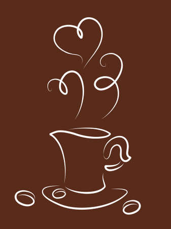 Vector illustration of cup Vector