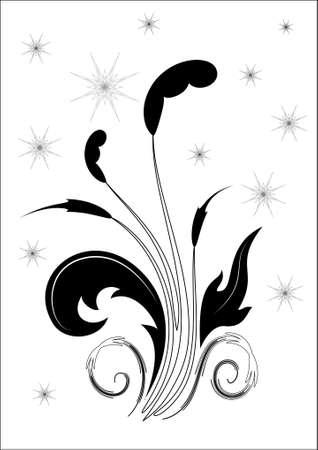 Vector floral abstract Stock Vector - 5385666