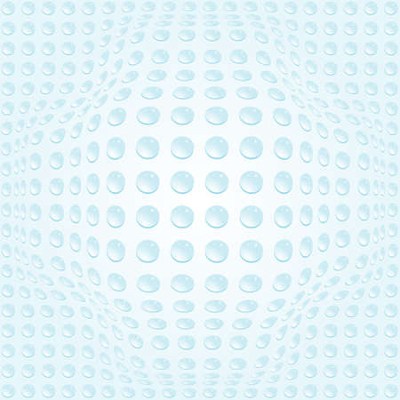 prominence: Vector bubbles background pattern