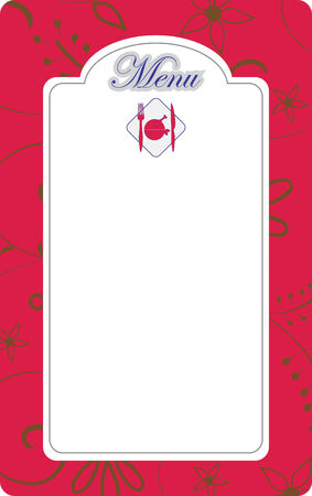 Illustration du menu Banque d'images - 6593719