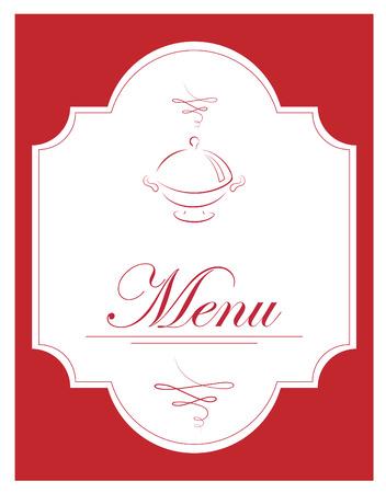 illustration of menu Ilustrace