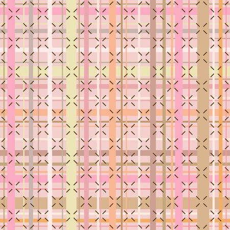 Seamless checked background pattern