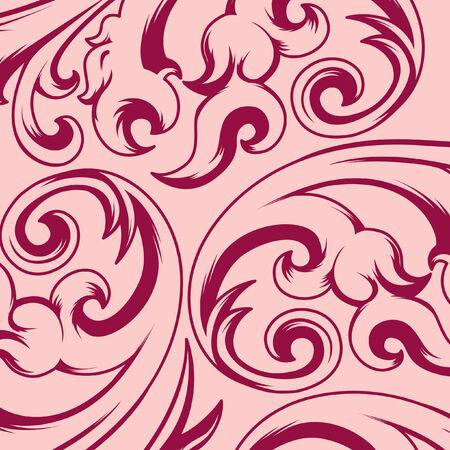 Seamless vintage background pattern Ilustracja