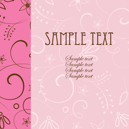 floral card Stock Vector - 7041967