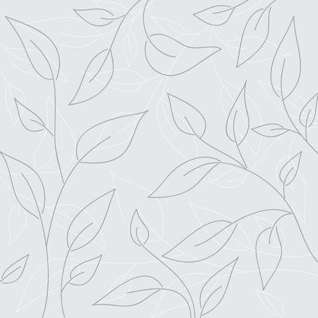 Vintage seamless floral wallpaper Stock Vector - 7257977