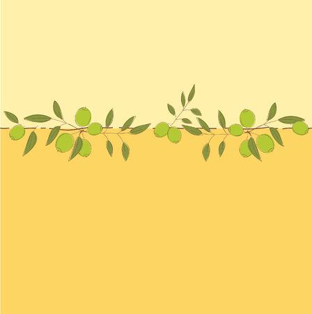 olive green: Nice floral background