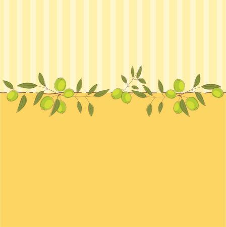 mooie achtergrond: Aardige achtergrond met olijven
