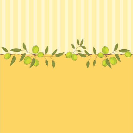 Nice background with olives