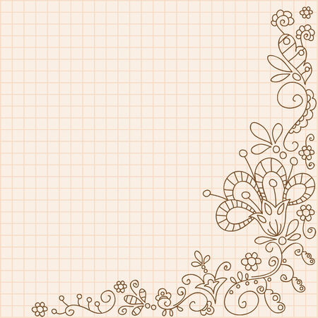 Vintage ornamental background Ilustrace