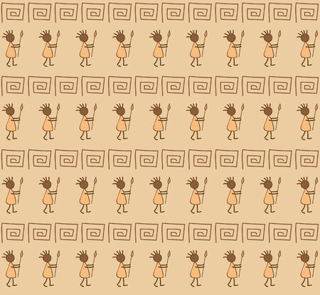 Ethnic wallpaper Vector
