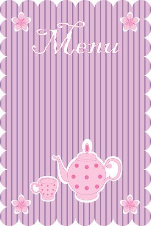 illustration of menu Stock Vector - 7417442