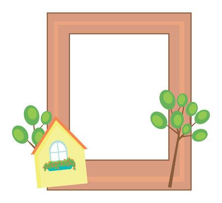 cute frame Illustration