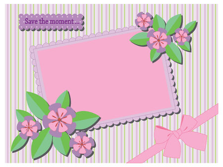 cute  frame Stock Vector - 7455826