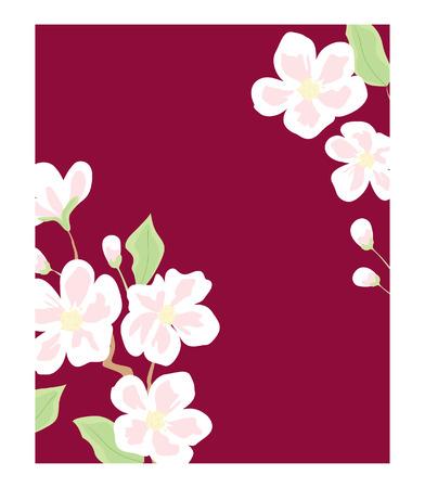 red wallpaper: flowers blooming