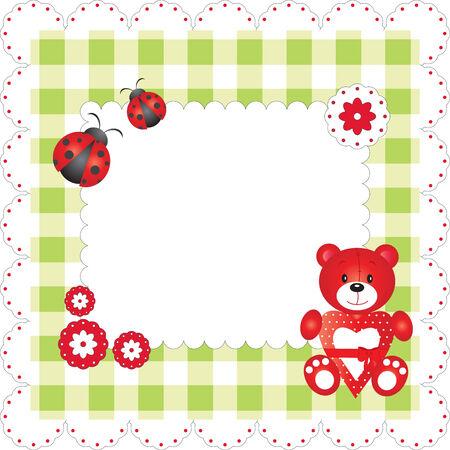 Cute blank card