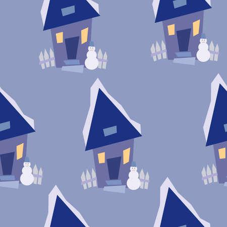 Arrière-plan transparent hiver Banque d'images - 8264889