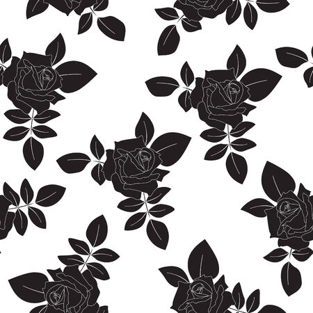 Seamless floral background Stock Vector - 8416868