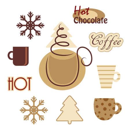 Cups vector pictogram.