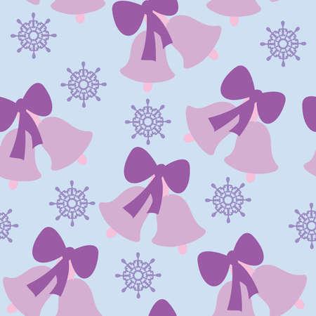 jingle bells: Jingle bells seamless pattern Illustration