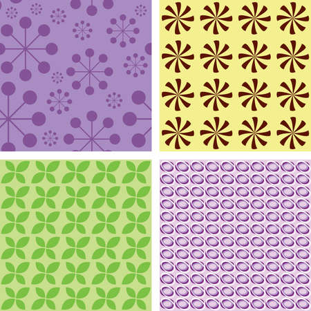 Illustration of nice textures Vector