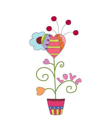 plant pot: Fantastic flower