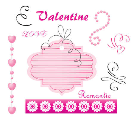 Digital set for Valentine's Day Stock Vector - 8778308
