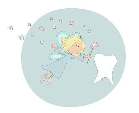 Tooth fairy Stock Vector - 8978306