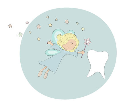 the sweet tooth: Tooth fairy Illustration