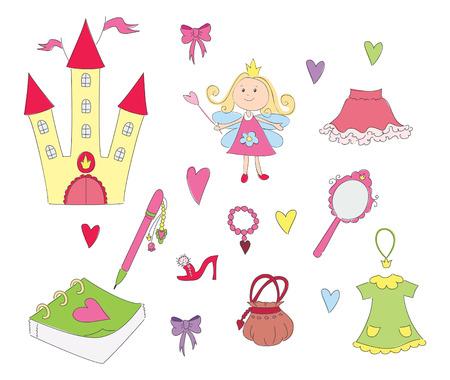 hand mirror: Princess set