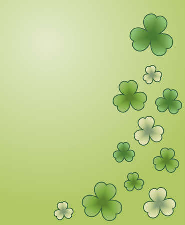 Green banner for st. Patrick's Day Stock Vector - 9148181