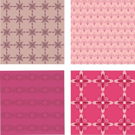 Ornamental seamless wallpaper  Stock Vector - 9447102