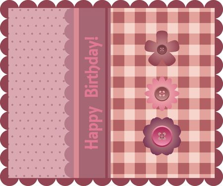 Birthday card 일러스트