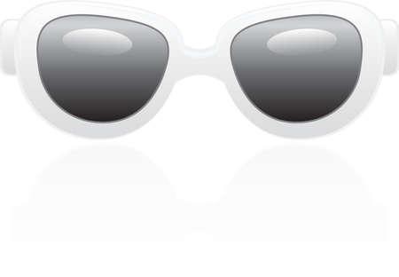 sun glasses: Realistic sun glasses Illustration