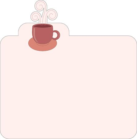 recipe decorated: Recipe template for different type of coffee