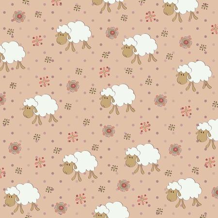 Seamless child's wallpaper