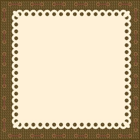 Vintage blank background Vector