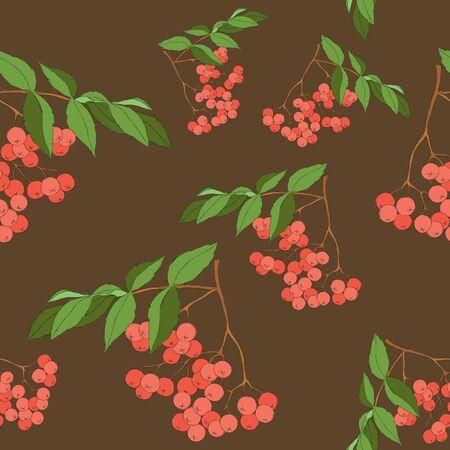 Seamless berry wallpaper