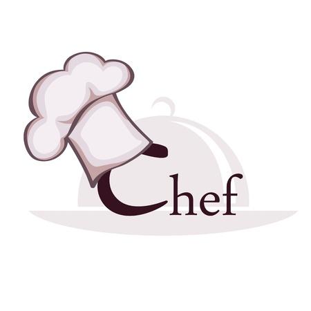Symbol of chef Vettoriali