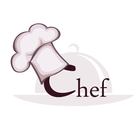 baking dish: Symbol of chef Illustration