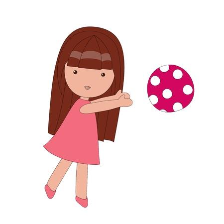 Spelen meisje