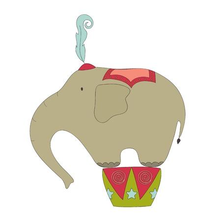 서커스 코끼리