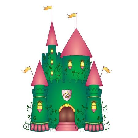 Castle illustration Stock Vector - 13927004