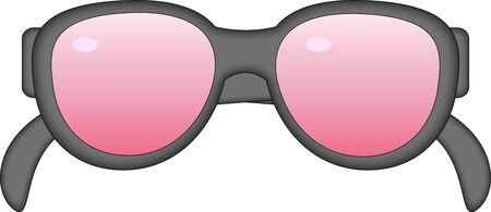 Glasses illustration.   Stock Vector - 14353716