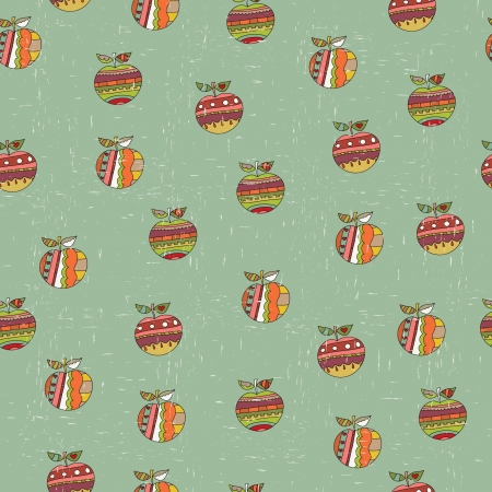Retro seamless wallpaper Vector