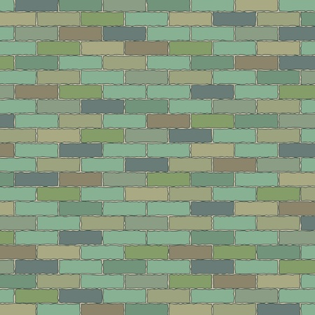 Brick wall texture Stock Vector - 14832061