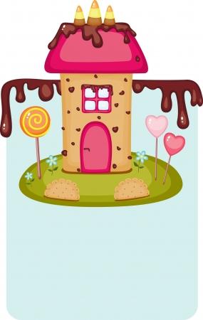 Candy casa Archivio Fotografico - 15527335